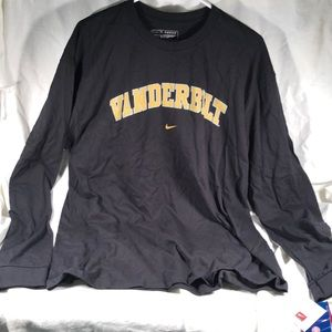 NWT Nike Vanderbilt long sleeve T-shirt men's L